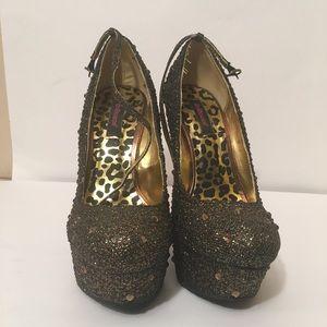 Dollhouse sparkle shoes